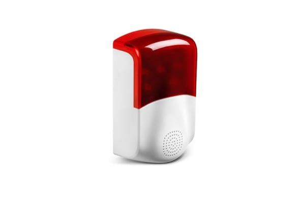 medion erweitert smart home portfolio um neue kamera sirene und beleuchtung. Black Bedroom Furniture Sets. Home Design Ideas