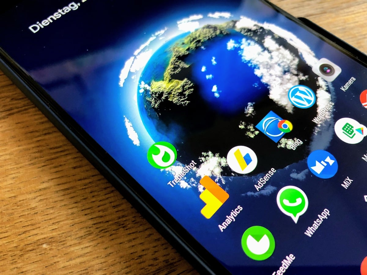 apps von android zu android