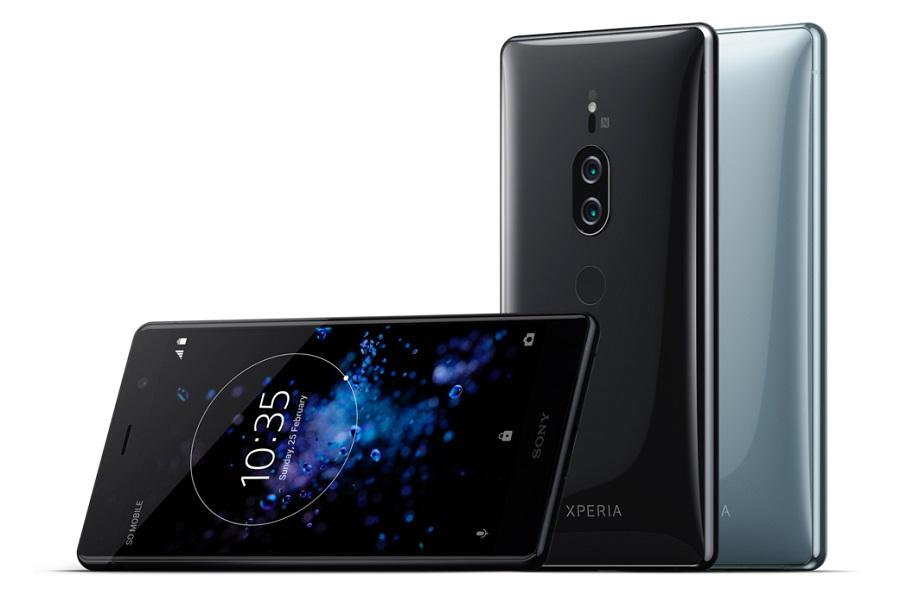 sony xperia xz2 premium smartphone mit 4k display klopft an. Black Bedroom Furniture Sets. Home Design Ideas