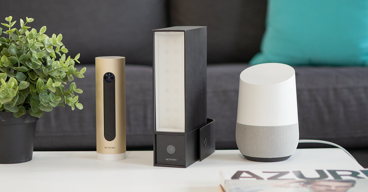 netatmo sicherheitskameras presence und welcome ab sofort per google assistant steuerbar. Black Bedroom Furniture Sets. Home Design Ideas