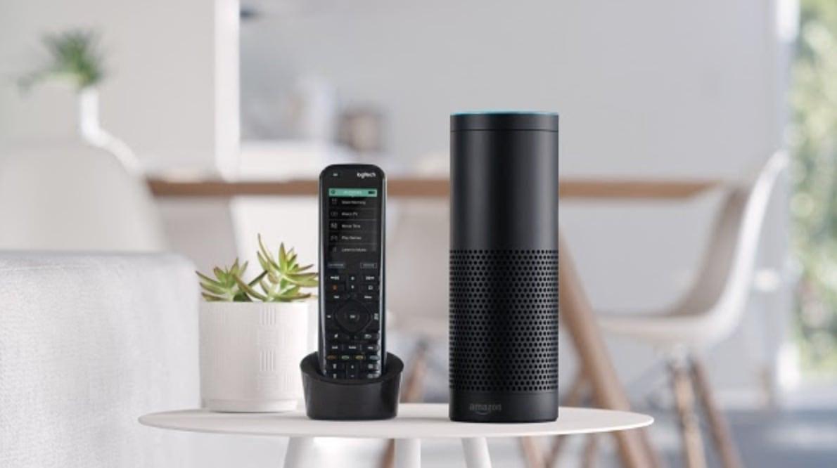 Logitech Harmony: Einfachere Sprachbefehle für Amazon Alexa