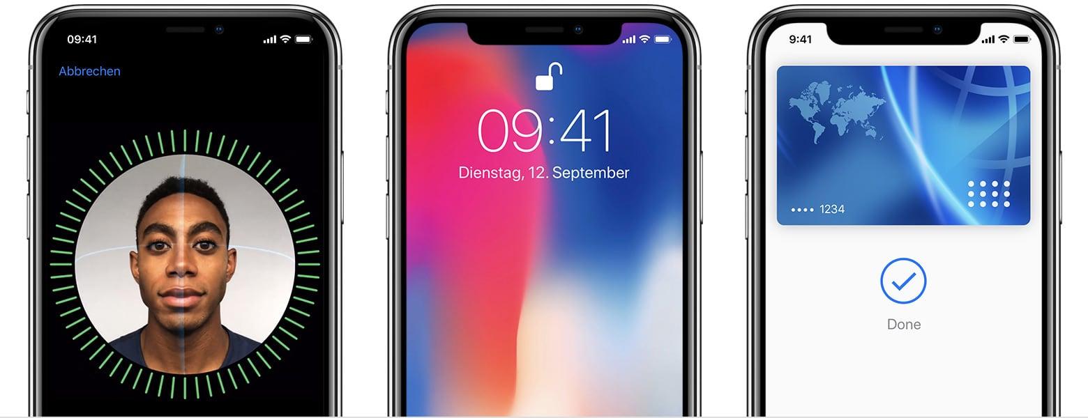 Face Id Nicht Verfügbar Iphone X