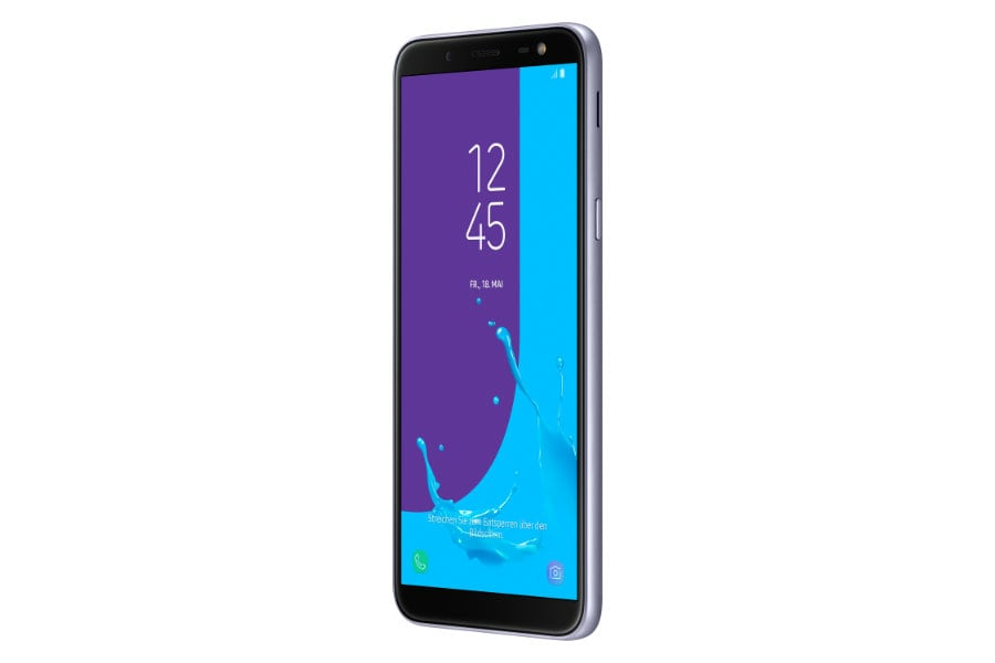 samsung galaxy j6 super amoled trifft einsteiger smartphone zum mittelklasse preis. Black Bedroom Furniture Sets. Home Design Ideas