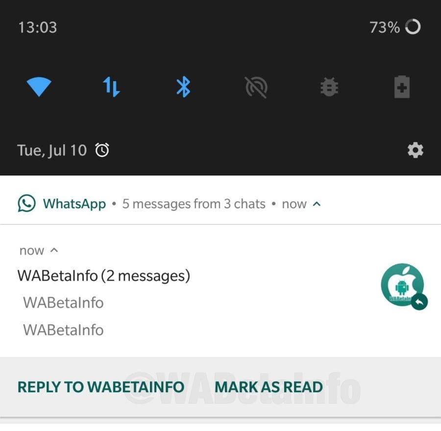 WhatsApp: Nachrichten lassen sich bald aus