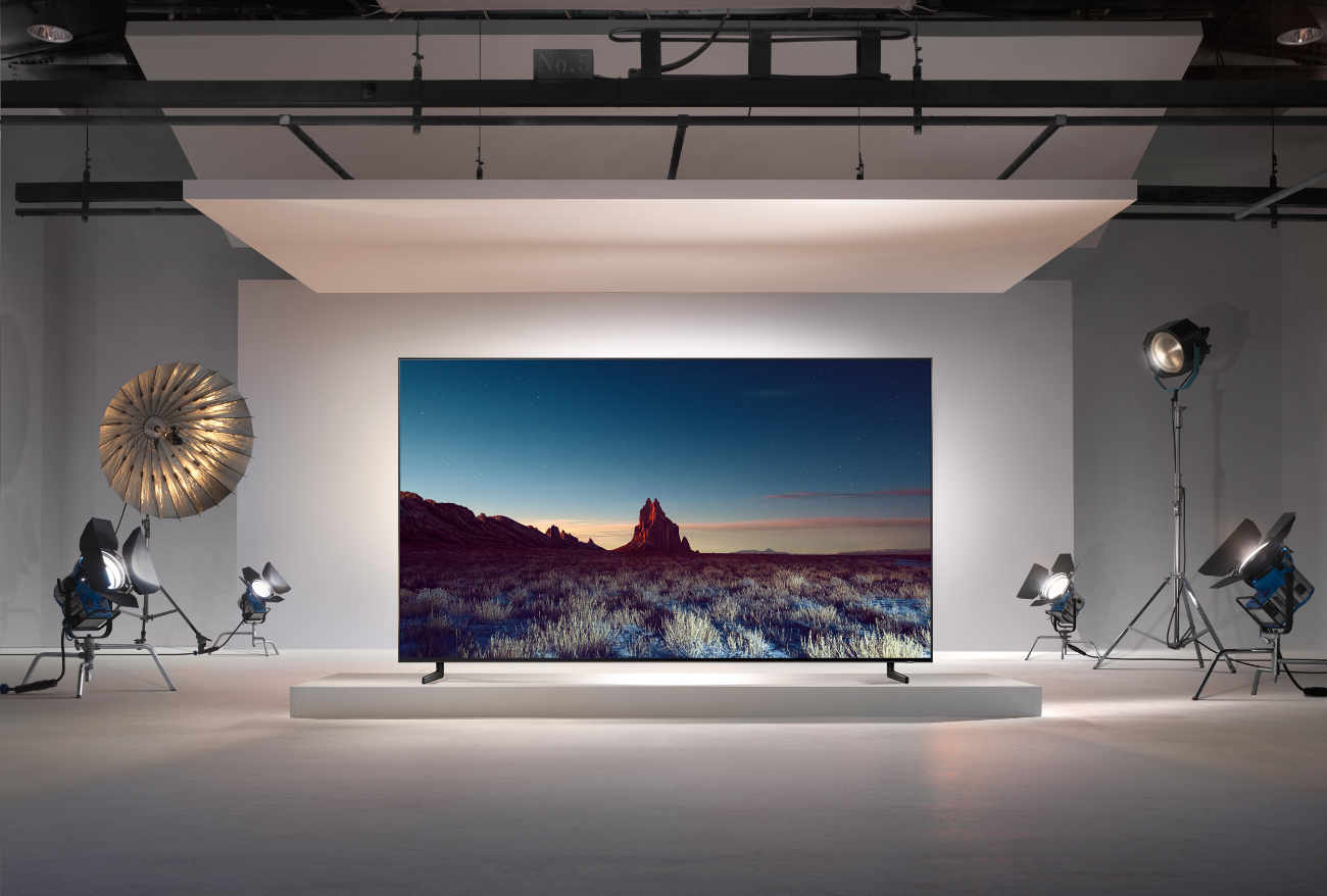 samsung zeigt auf der ifa 2018 neue 8k qled zu preisen ab. Black Bedroom Furniture Sets. Home Design Ideas