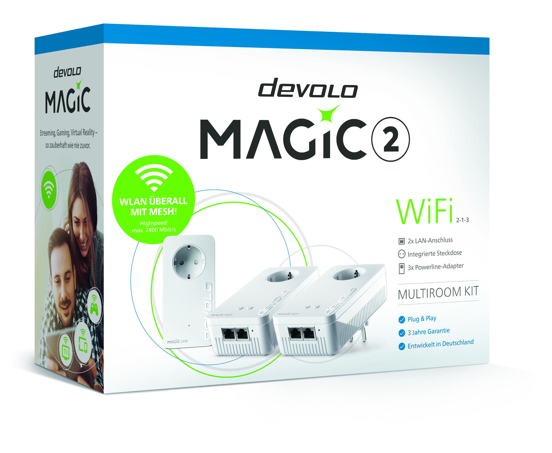 devolo Magic: Wenn Powerline und Mesh-WLAN sich vereinen