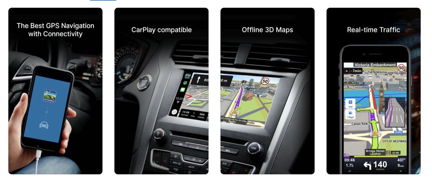 apple carplay auch sygic car navigation zieht nach. Black Bedroom Furniture Sets. Home Design Ideas