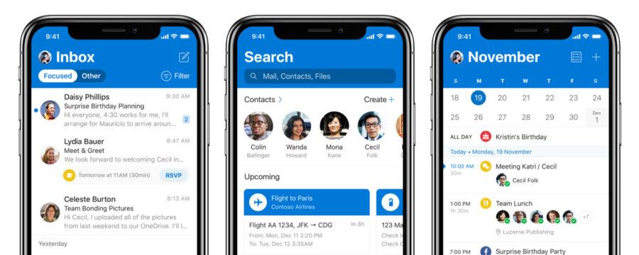 Microsoft Outlook für iOS: Update verbessert Apple-Watch-Benachrichtigungen