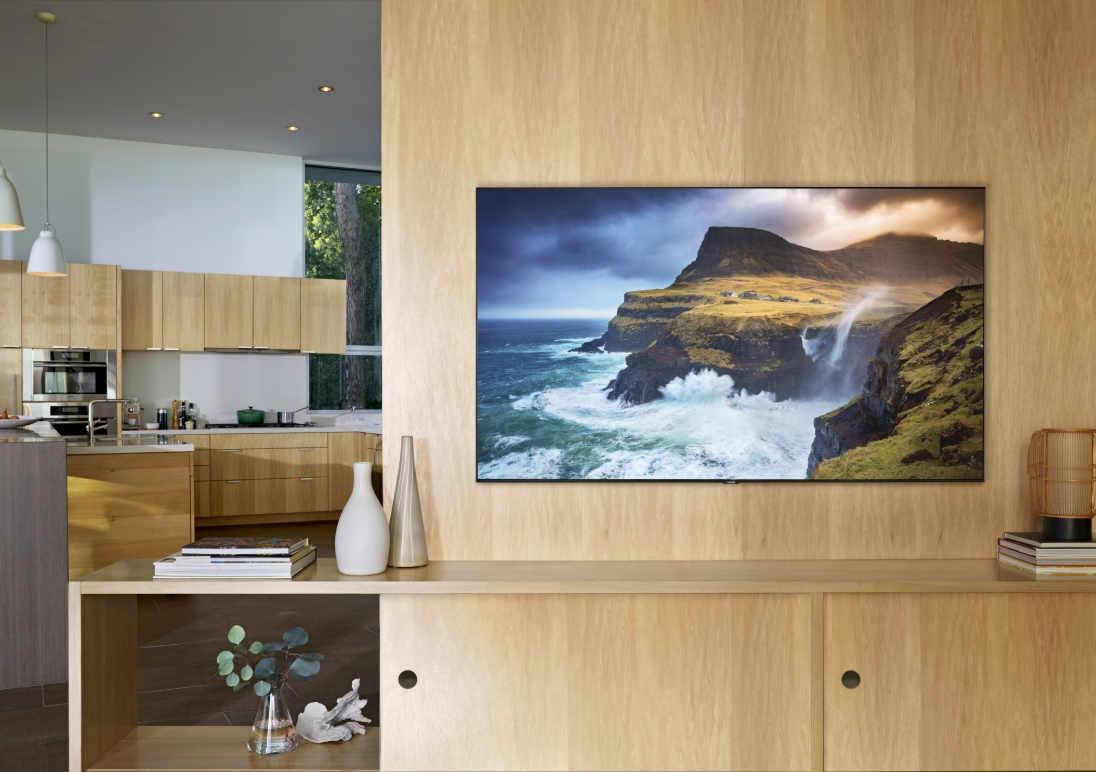 samsung nennt details zu seinen qled tvs 2019. Black Bedroom Furniture Sets. Home Design Ideas