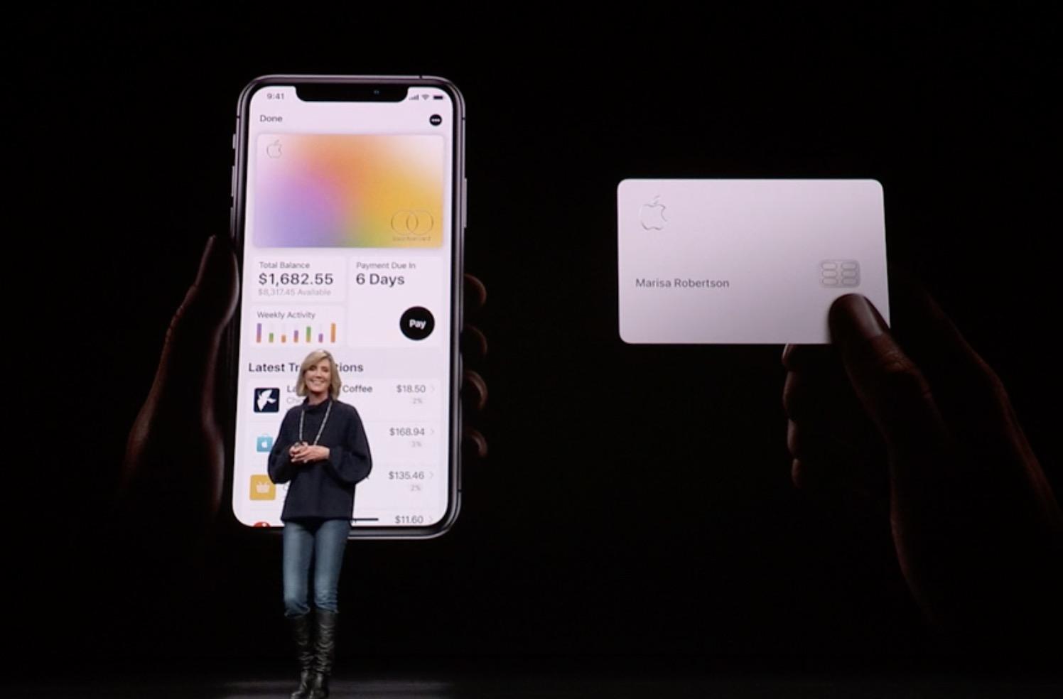 Apple Card: Apple stellt Kreditkarte vor