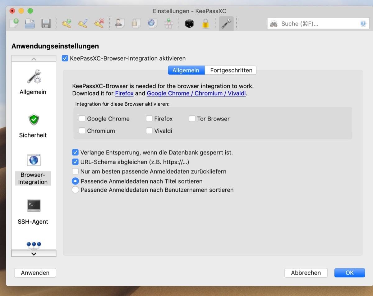 KeePassXC unterstützt jetzt offiziell Microsoft Edge auf Chromium-Basis