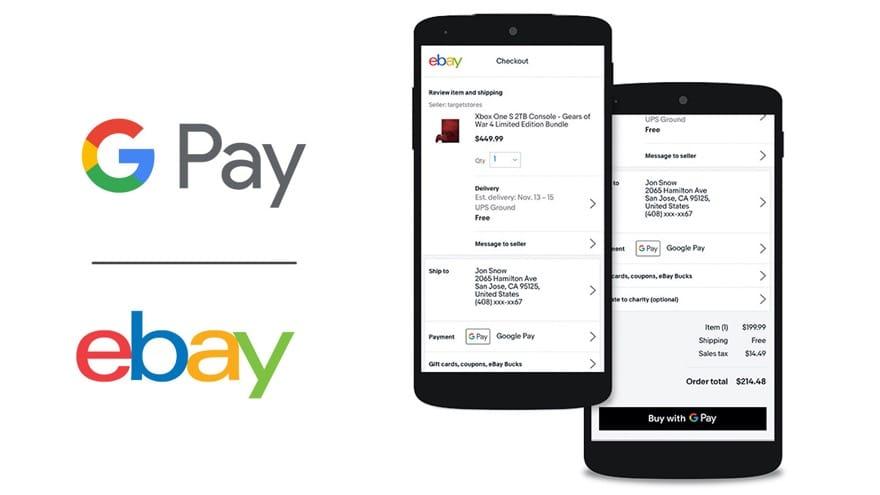 eBay: Künftig auch mit Google Pay als Zahlungsoption