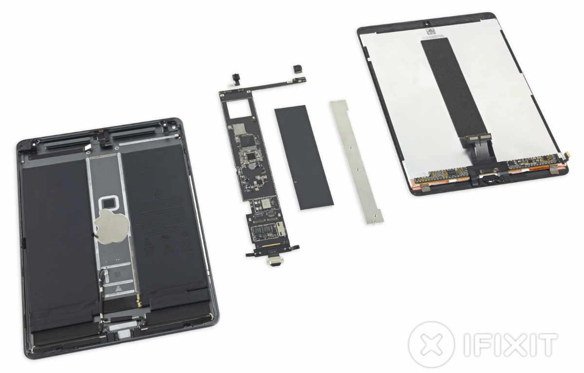 Apple iPad Air 3 im Teardown: Kommt einem bekannt vor