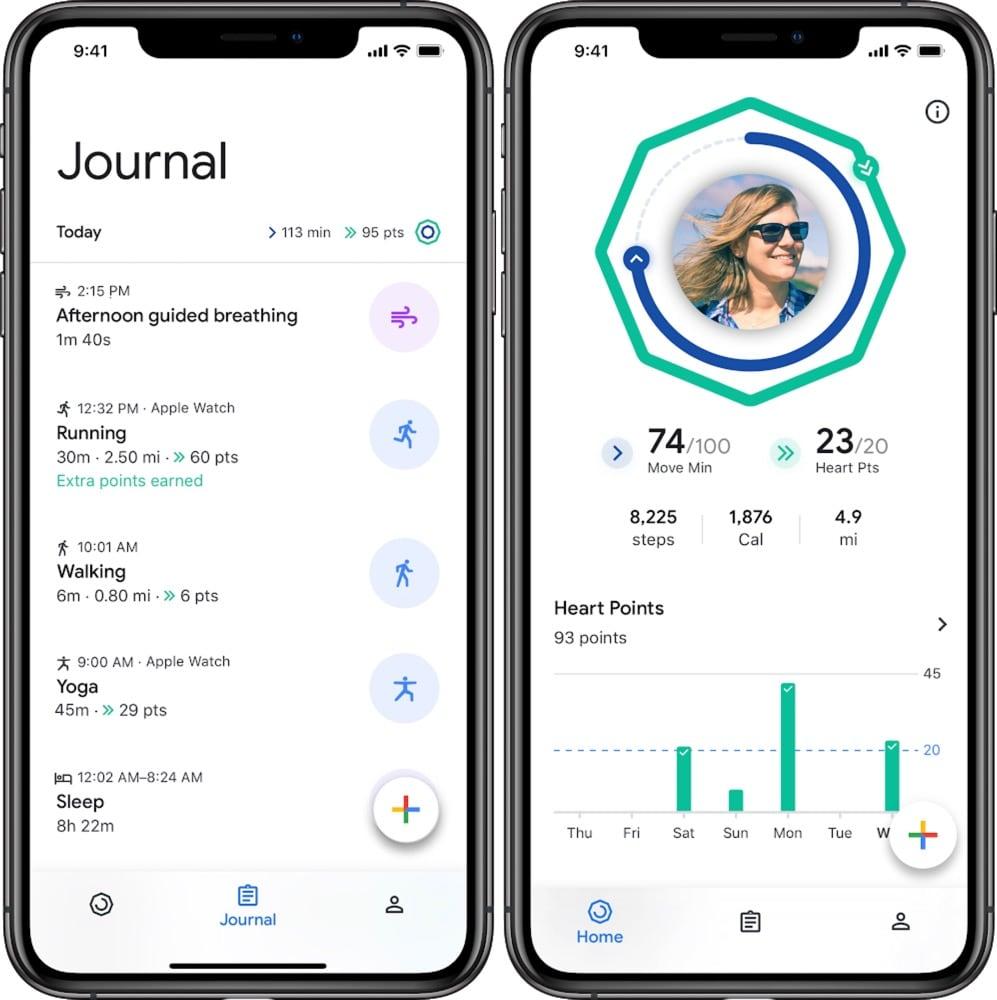 Google Fit für iOS veröffentlicht