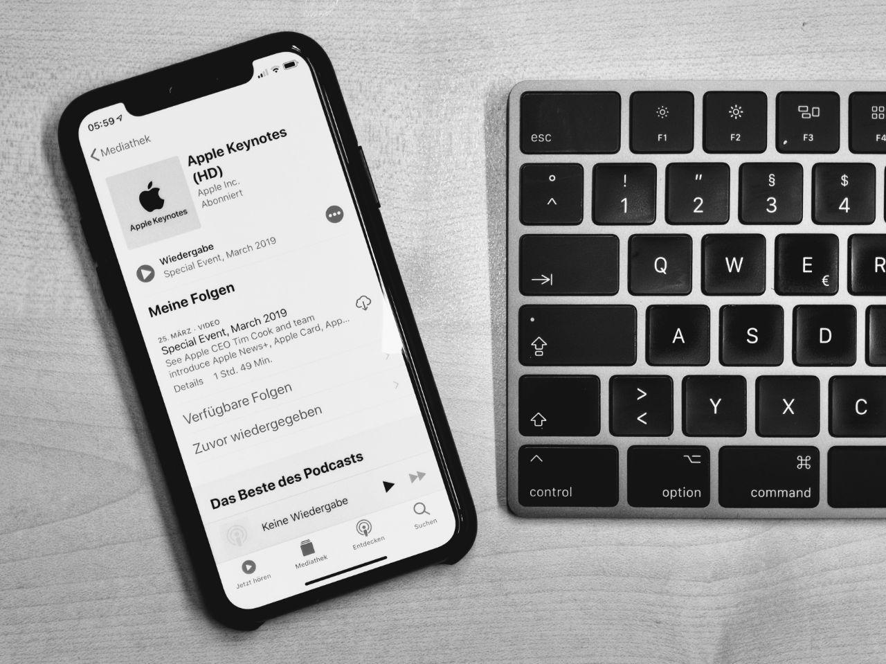 Apple Podcast-Seite bestätigt separate App für Podcasts