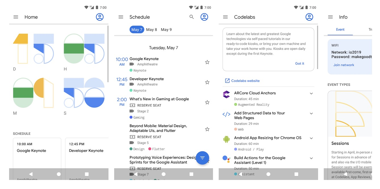 Google I/O 2019: Die Android-App ist da
