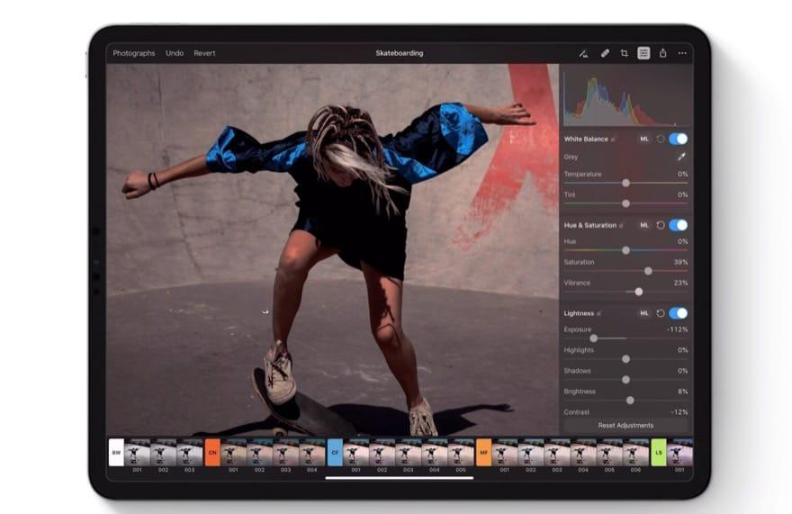 Pixelmator für iPadOS: Großes Update bringt Stapelbearbeitung