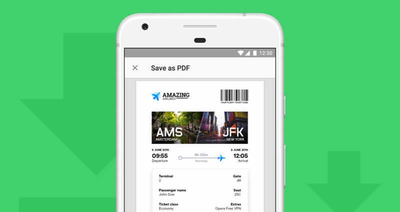 Opera 52 für Android mit verbessertem VPN und PDF-Unterstützung