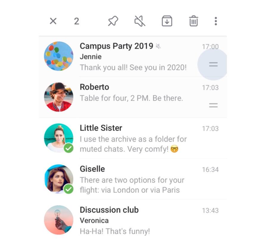 Android chats löschen whatsapp archivierte Eine WhatsApp