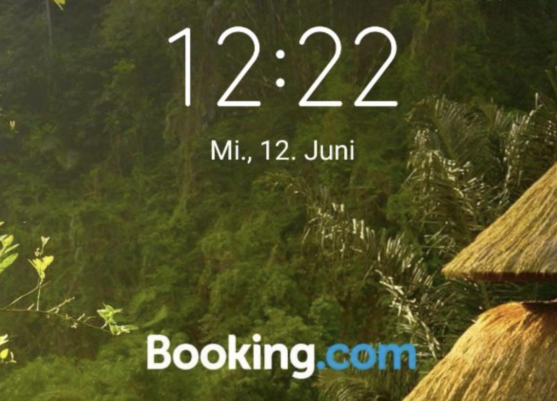Booking Com Werbung