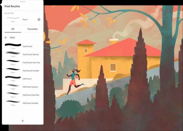 Adobe Fresco: Update bringt Drag & Drop mehrerer Ebenen und mehr
