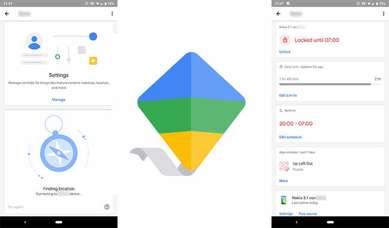 Google Family Link für Eltern erhält überarbeitetes Material Design
