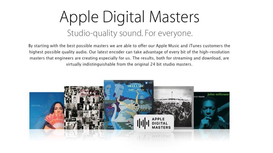Apple Digital Masters: Mehr Klangqualität für Apple Music-Abonnenten
