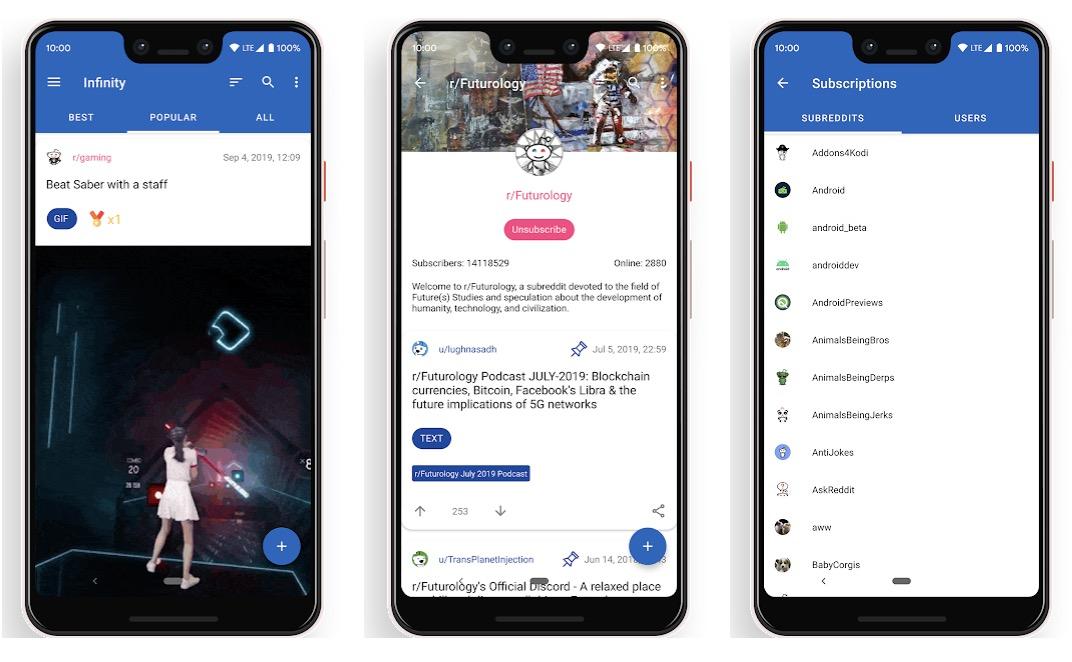 Infinity: Toller Android-Client für Reddit
