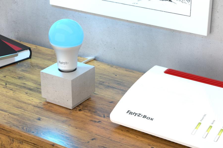 avm smarte lampe dect 500 vierfach taster dect 440. Black Bedroom Furniture Sets. Home Design Ideas