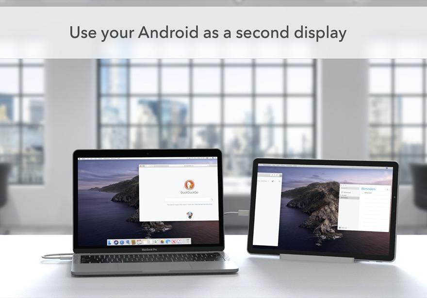 Duet Display: Android-Gerät als zweiten Monitor für Windows und Mac nutzen