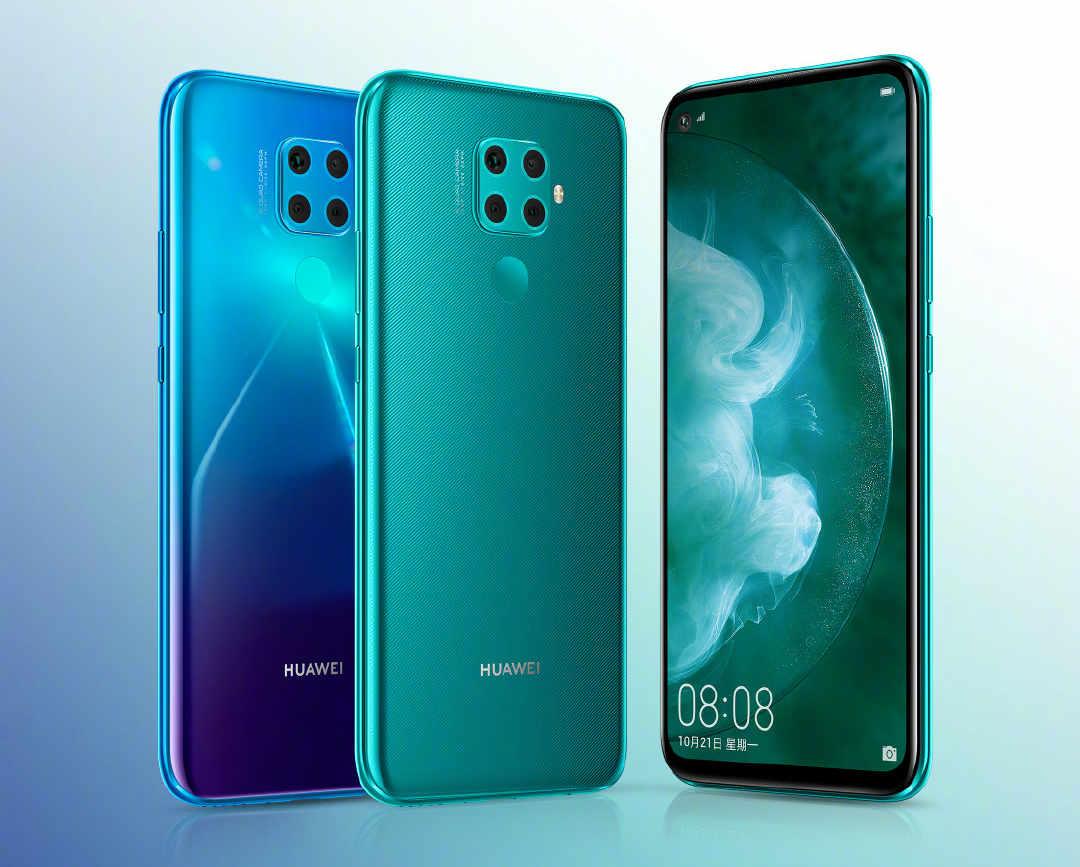 Huawei nova 5z mit 48-Megapixel-Kamera im offiziellen Teaser