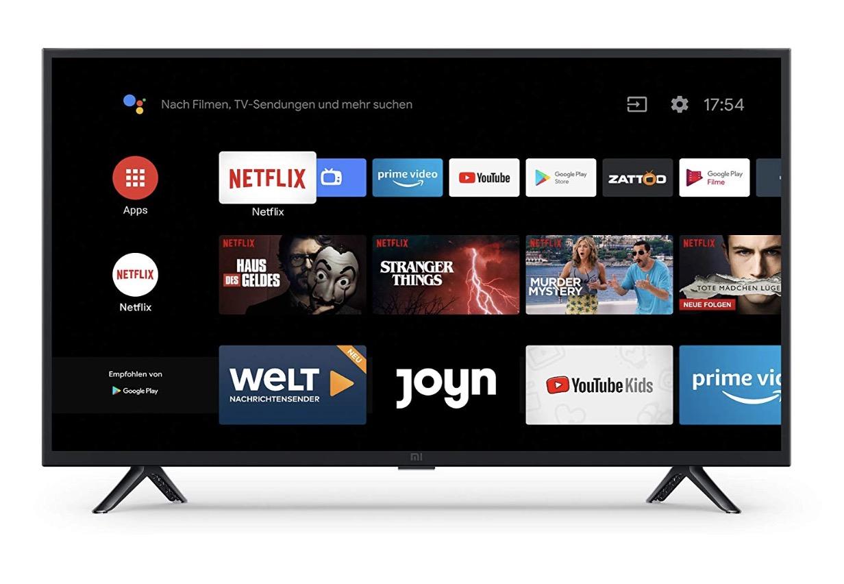 Xiaomi Mi Smart TV: Nun startet auch das kleine Modell in Deutschland