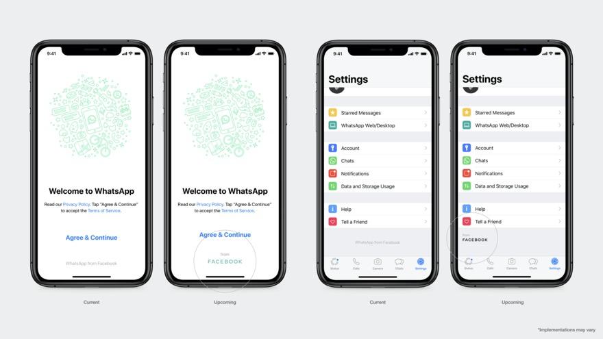 Facebook Neues Logo Und Marke Zur Besseren Trennung Von Apps Und Unternehmen