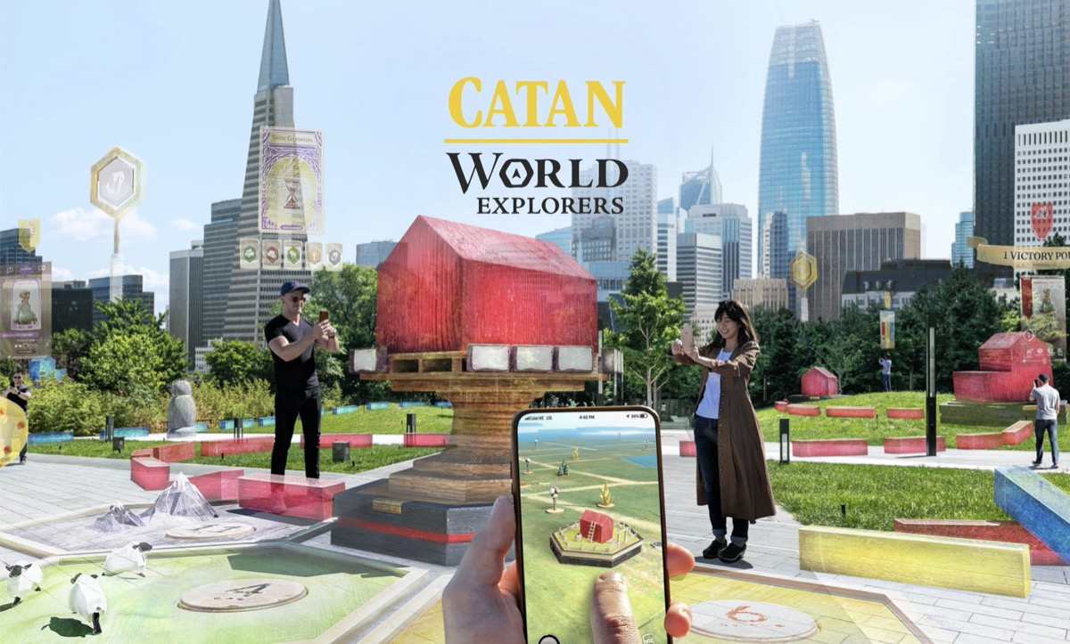 CATAN – World Explorers: Standortbasiertes Multiplayer-Spiel setzt auf prominente Grundlage