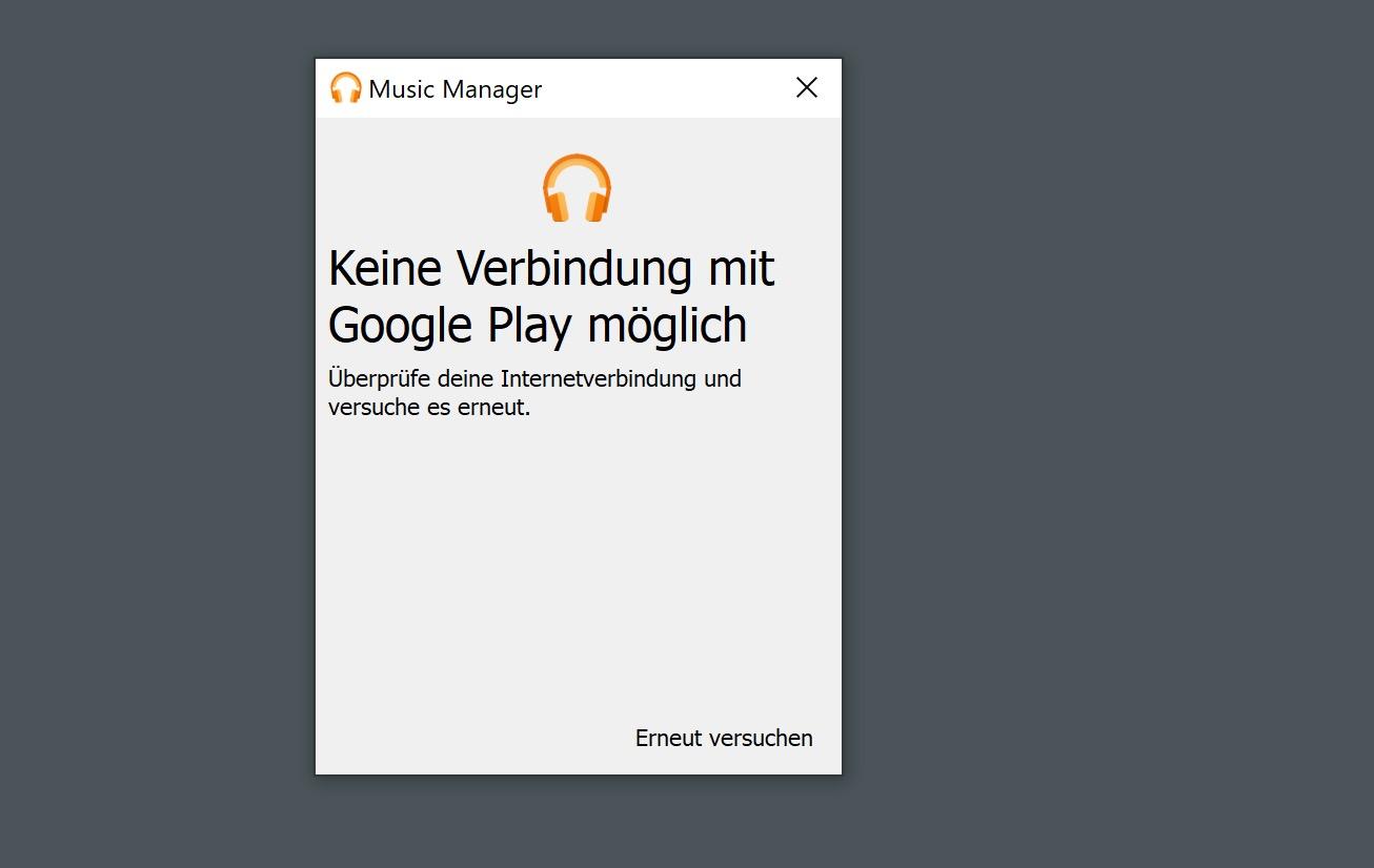 Google Play Musik: Das Upload-Tool funktioniert derzeit bei vielen Nutzern nicht