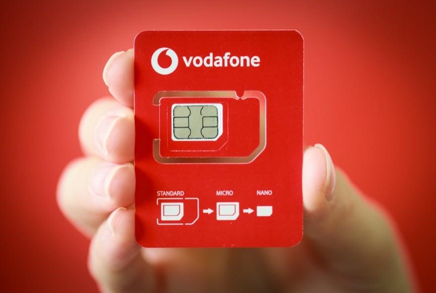 Vodafone Senden