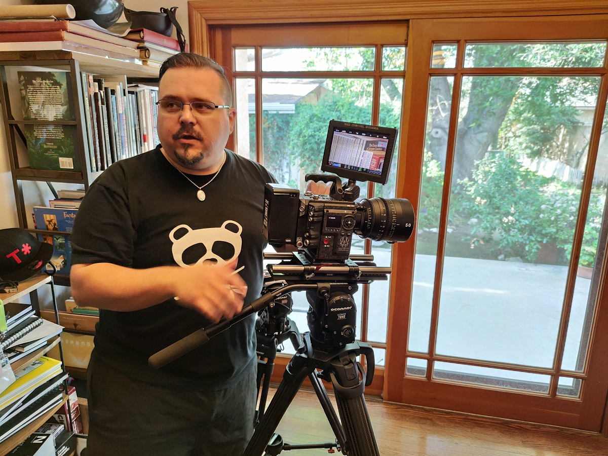 Im Wohnzimmer des Hollywood-Kameramannes und 8K-Verfechters Phil Holland