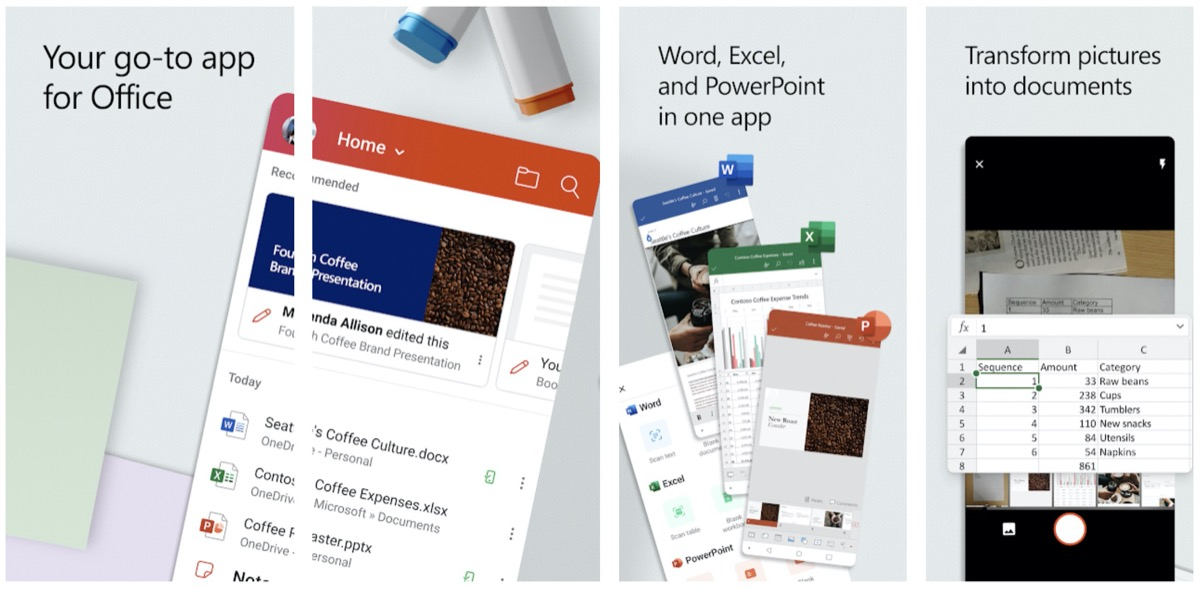 Microsoft Office für Android: All-in-One-App ab sofort verfügbar