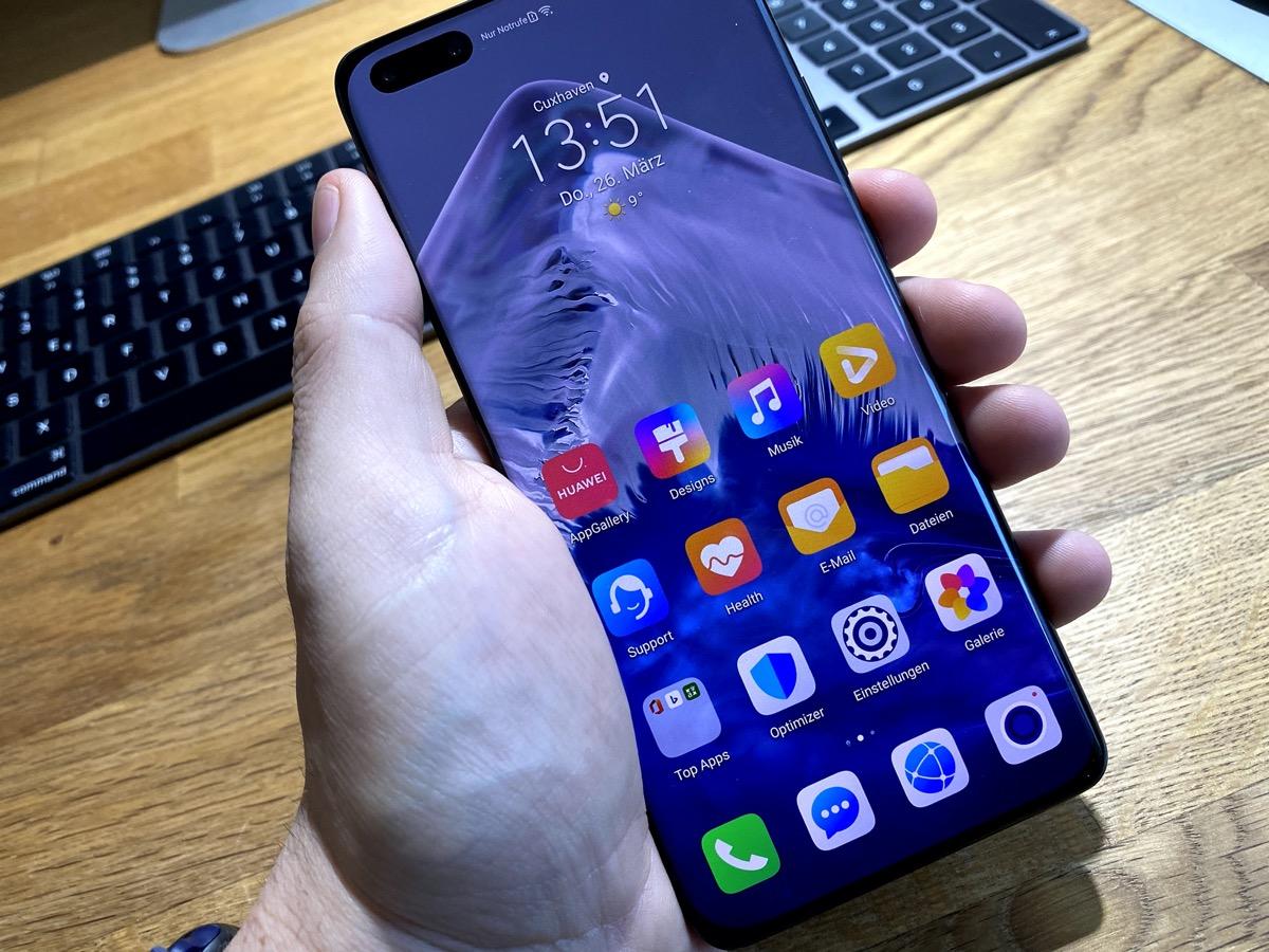 Huawei P40 Pro Google Dienste Installieren