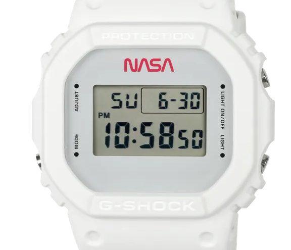 Casio stellt NASA-Edition der G-Shock vor