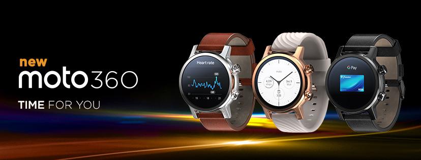Moto360: Neuauflage der Wear-OS-Smartwatch ab sofort verfügbar