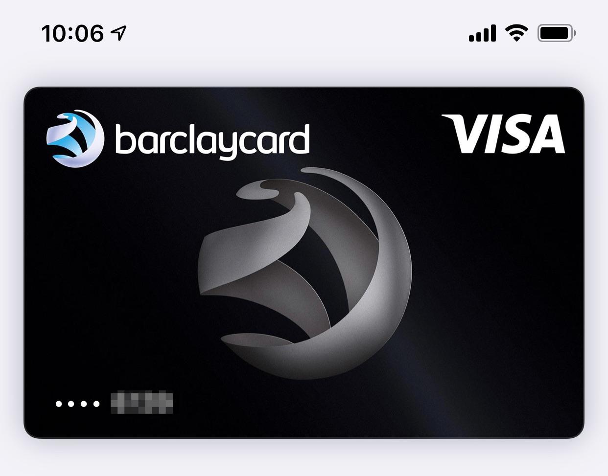 Apple Pay: Barclaycard mit dabei