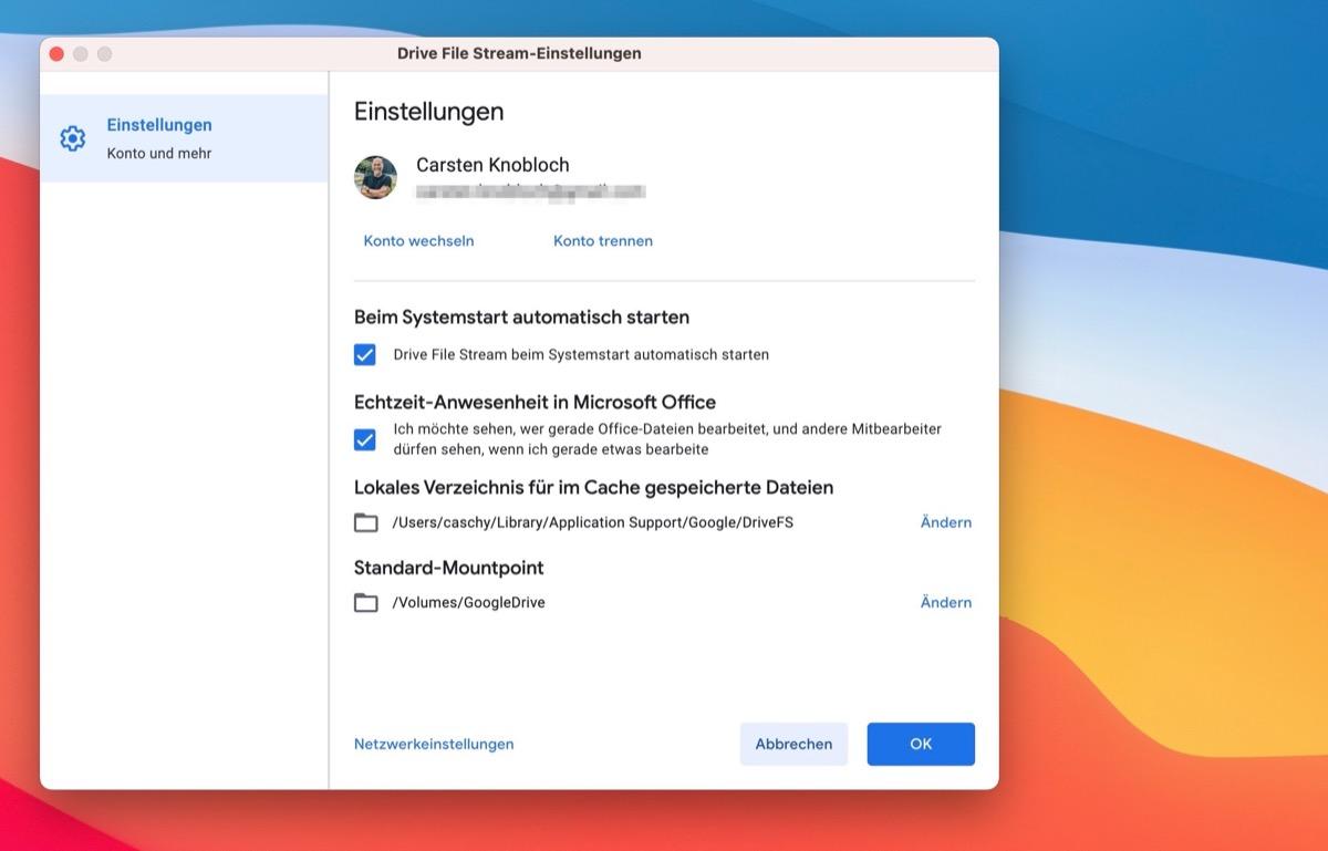 Google Drive File Stream Google testet mit normalen Anwendern