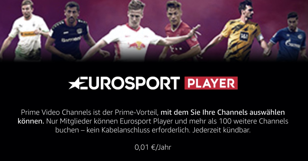 Prime Eurosport Player