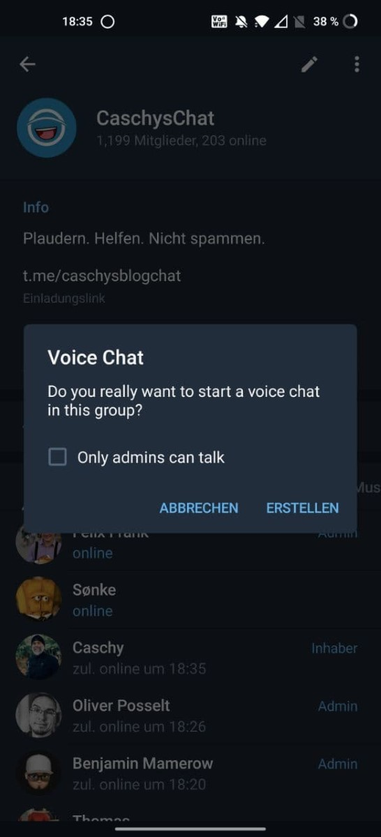 Telegram Gruppen 18+ Deutsch