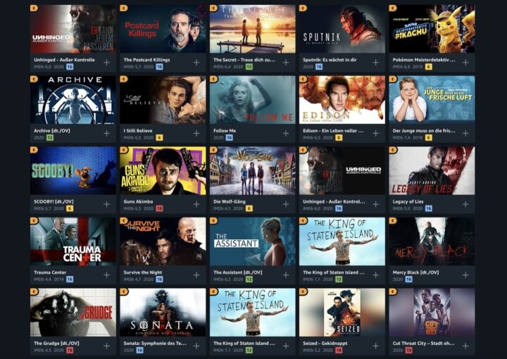 Gute Filme Amazon Prime 2021