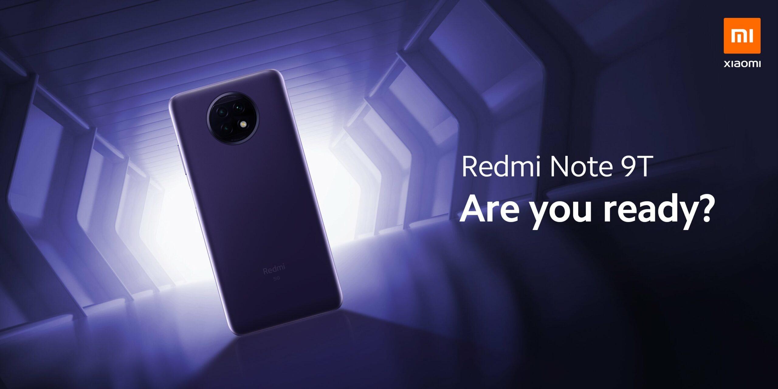 Xiaomi Redmi Note 9T 5G: Vorstellung am 8. Januar um 13 Uhr
