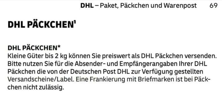 Was Kostet Ein Päckchen Bei Der Deutschen Post