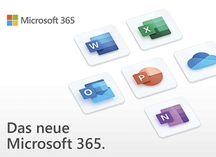 Microsoft 365 Family: Office und mehr wieder zum Sparpreis