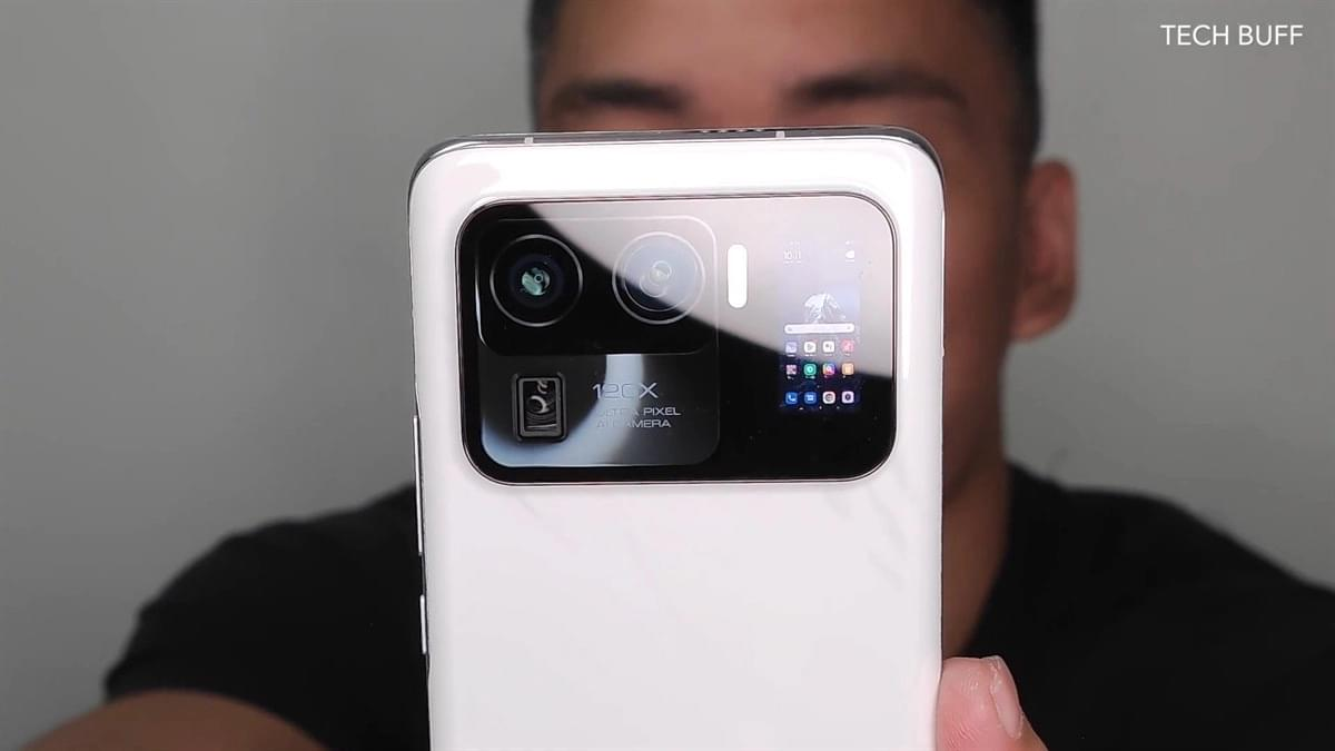 Xiaomi Mi 11 Ultra: Video zeigt eine verrückte Funktion: ein weiteres Display im Kameramodul - Caschys Blog